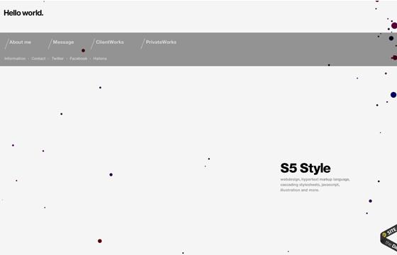 S5-Style   Hello world.