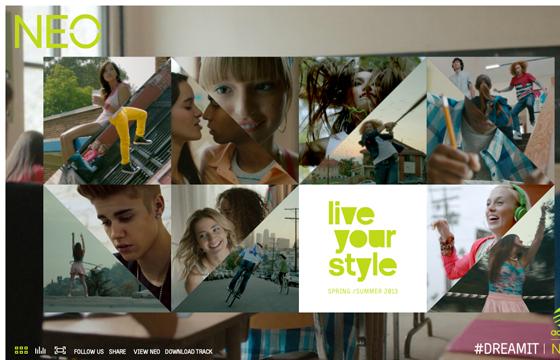 adidas NEO Lookbook